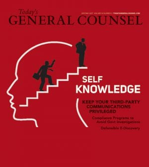 Todays General Counsel April May 2017