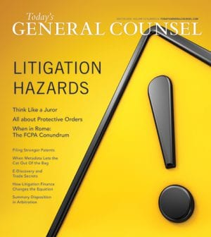 Todays General Counsel Winter 2018