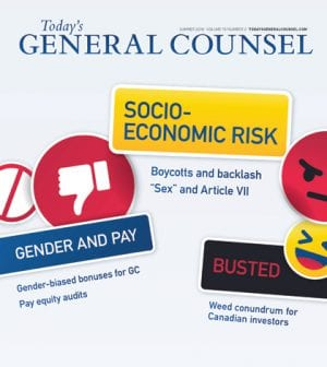 Todays General Counsel Summer 2018