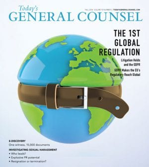 Todays General Counsel Fall 2018