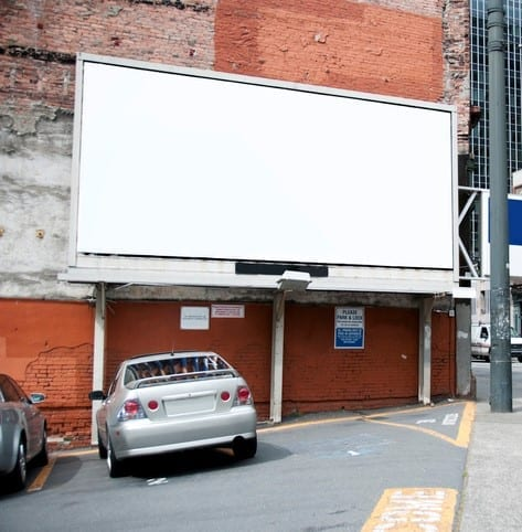 """""""Empty Billboard at Outdoor Parking Lot. Your ad can be placed here! Photo taken in around the Pioneer Square district, downtown Seattle, USA.Related images:"""""""