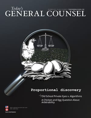 Today's General Counsel December 2020