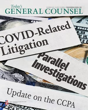 Today's General Counsel November 2020