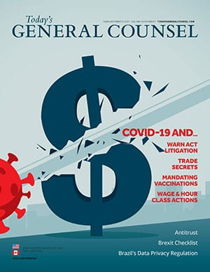 Today's General Counsel February March 2021