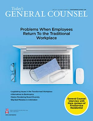 Today's General Counsel May 2021