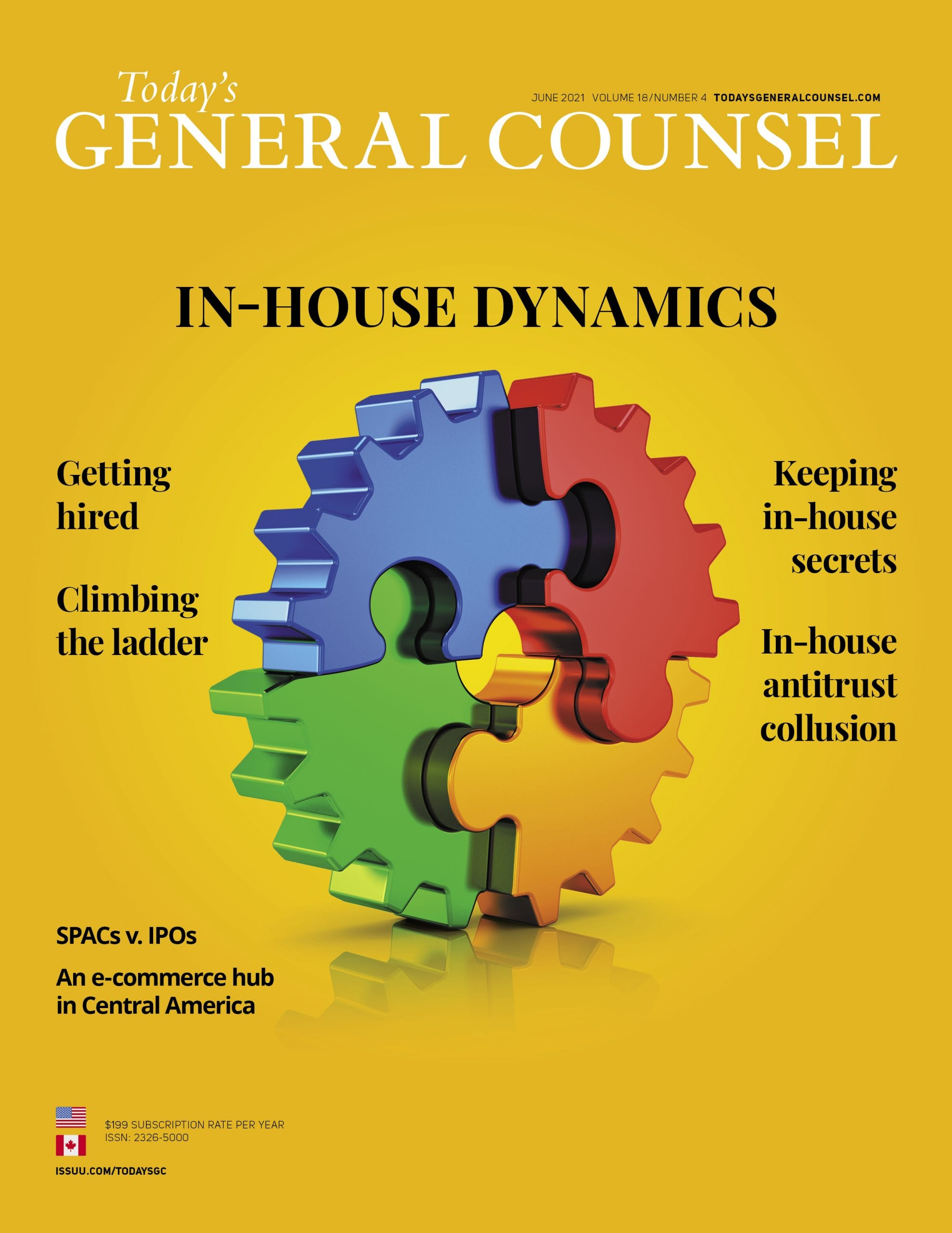Today's General Counsel June 2021