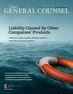 Today's General Counsel July August 2021