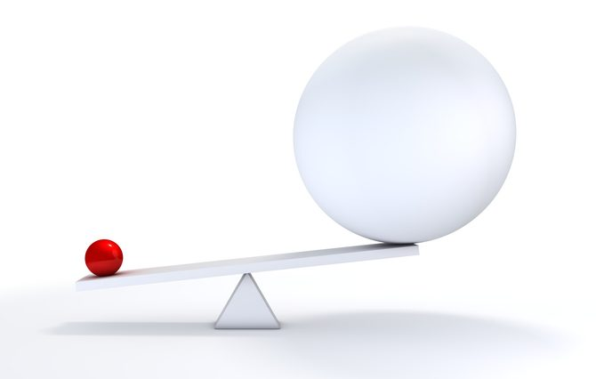 """""""A small concentrated ball has more weight than its bigger, less defined competitor.You may also like:"""""""