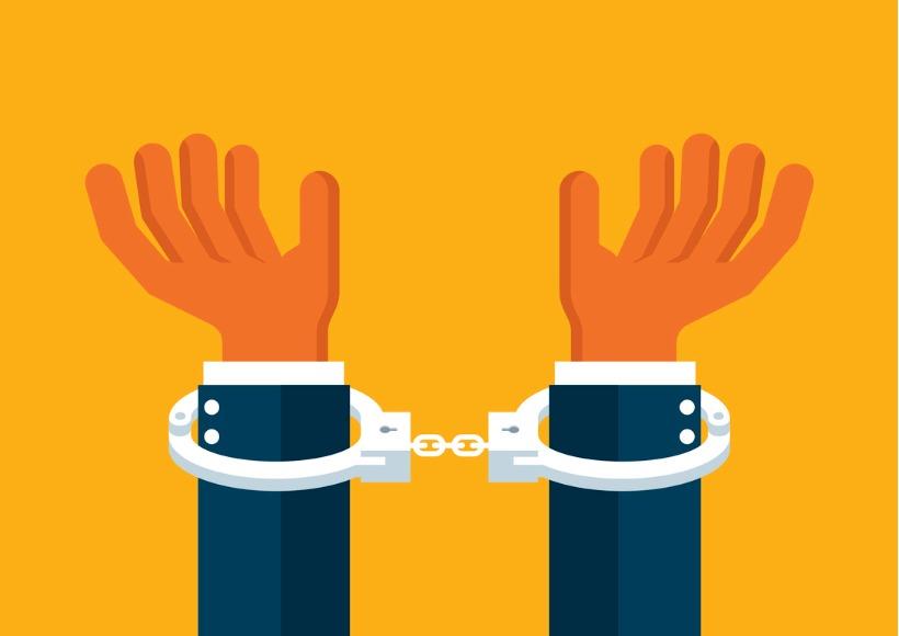 handcuffs-vector-id496986198