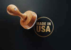 """""""Made in America"""" stamp"""